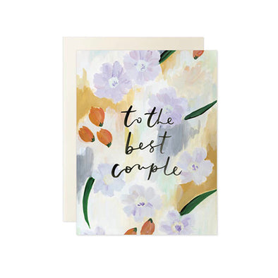 """To The Best Couple"" Card"