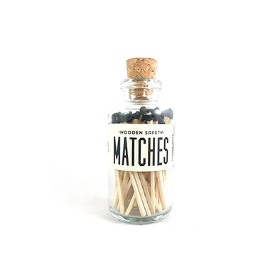 Black Mini Matches