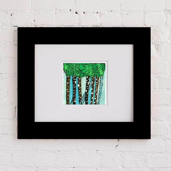 Spring Trees Two Art Print