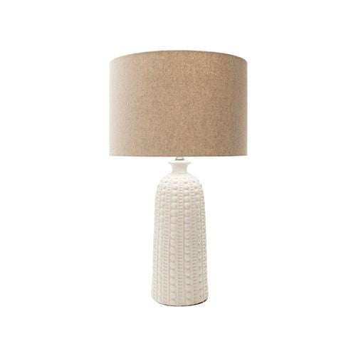 White Newell Lamp
