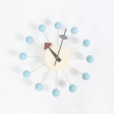 Popular Designer Beautiful Modern Luxury Wooden Balls Wall Clocks Home Decor