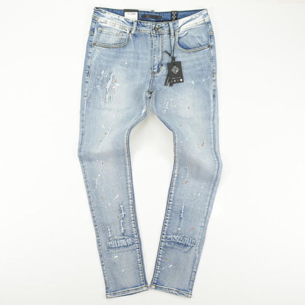 8IGHTH DSTRKT SLIM FIT DENIM - DF9318 Bottoms 8 DSTRKT 42.99 memphis urban wear
