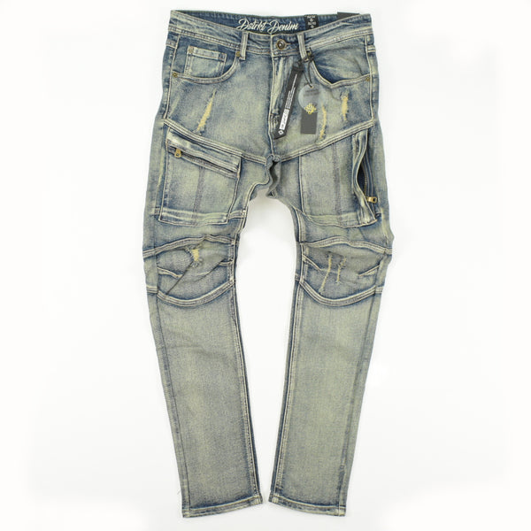 8IGHTH DSTRKT DENIM DF8360 Bottoms 8 DSTRKT 42.99 memphis urban wear
