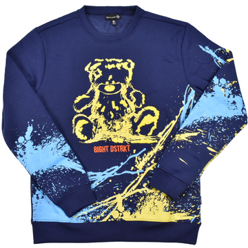 8IGHTH DSTRKT FLEECE CREWNECK PAINT -DF0025