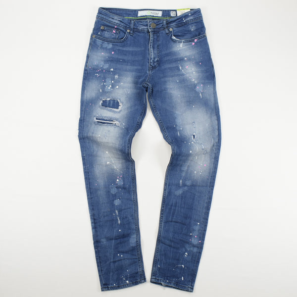 8IGHTH DSTRKT DENIM - DF9854 Bottoms 8 DSTRKT 54.99 memphis urban wear
