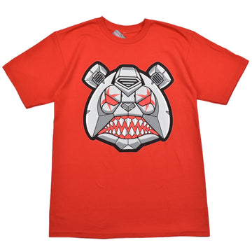 BAWS T-SHIRTS - ROBOT BAWS - RED