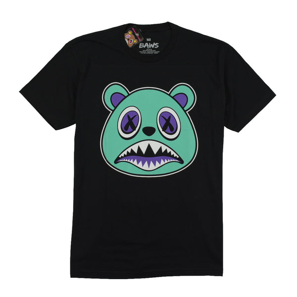 BAWS T-SHIRTS - AQUA BAWS - BLACK Tops BAWS 31.99 memphis urban wear
