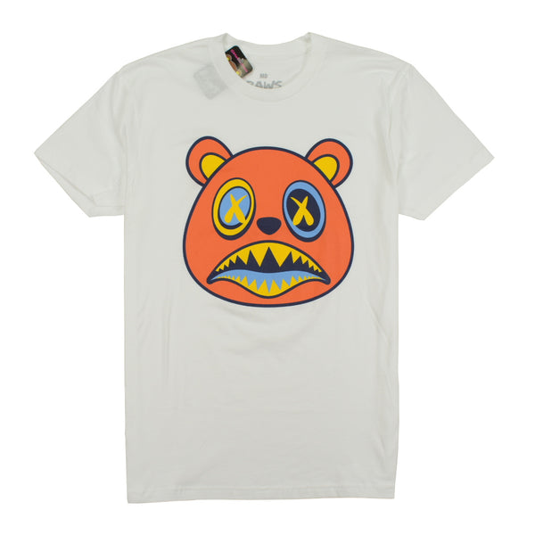BAWS BEAR T-SHIRTS - SUNSET BAWS - WHITE Tops BAWS 31.99 memphis urban wear