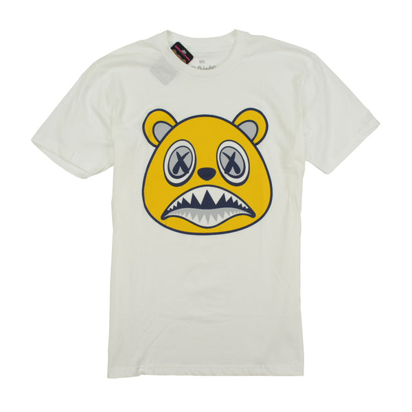 BAWS BEAR T-SHIRTS - MICHIGAN BAWS - WHITE Tops BAWS 31.99 memphis urban wear