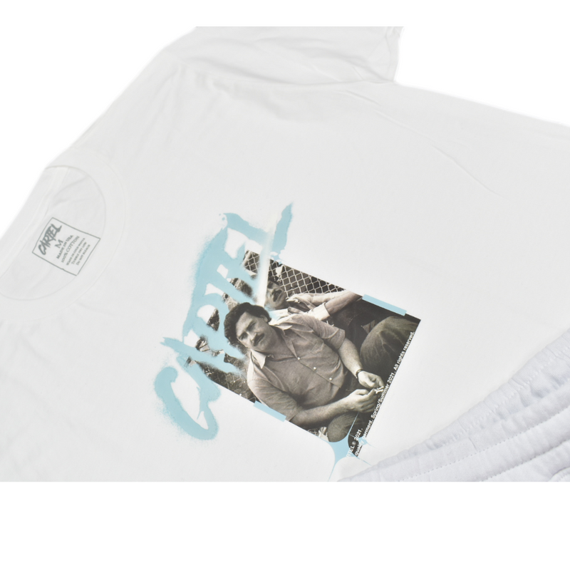 cartel-el-patron-short-set-white-memphis-urban-wear