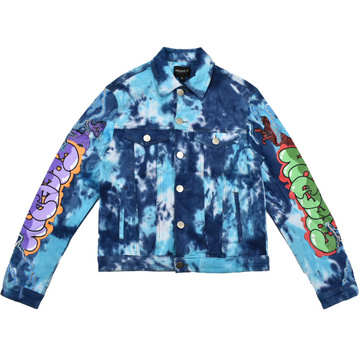 COOPER 9 TIE DYE DENIM JACKET - 2099175