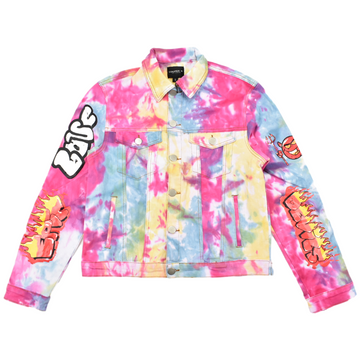 COOPER 9 TIE DYE DENIM JACKET - 2099174