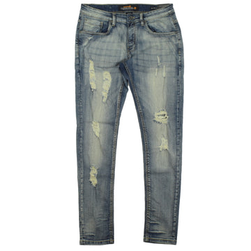 COPPER RIVET SLIM FIT JEANS - 9029