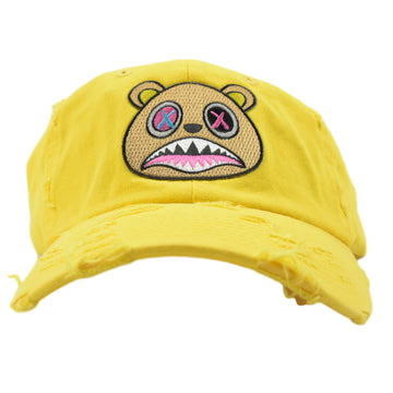 CRAZY BAWS DAD HAT - YELLOW