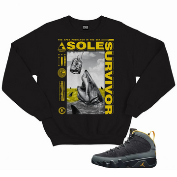 EFFECTUS SOLE SURVIVOR CREWNECK - BLACK GOLD