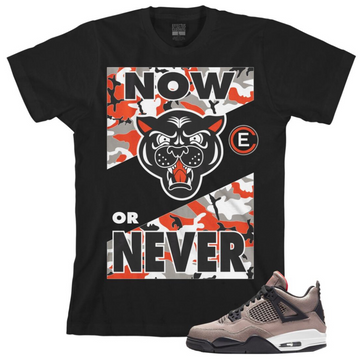 EFFECTUS CLOTHING NOW OR NEVER T-SHIRTS