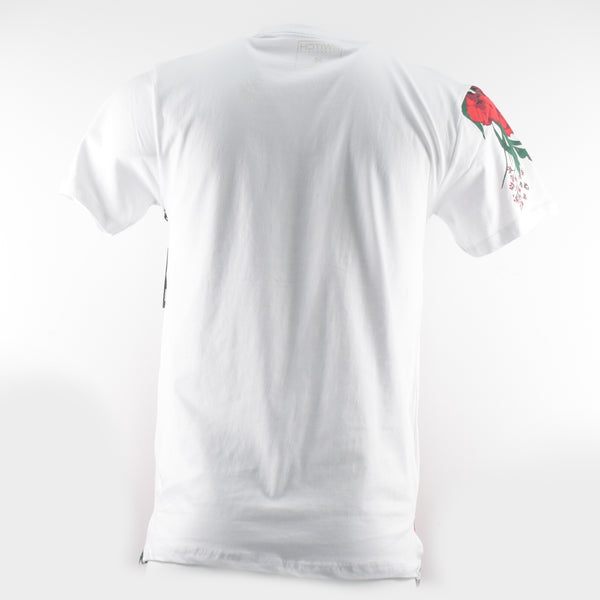 Men-White-Shirts-Printing-Red-Rose-Flower-Street-wear-Urban-wear-clothing