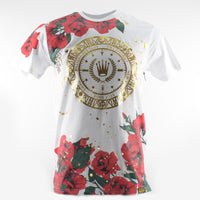Men's-Flower-Shirt-Red-Flower-Men-Wear-White-Printing-Shirts-Urban-Wear-clothing