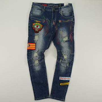 STALL&DEAN DENIM PANTS -DF9873