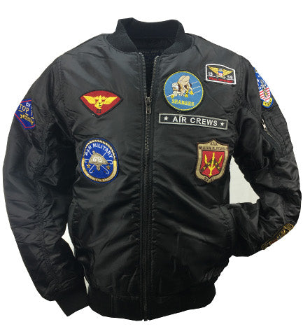 Men Patch Jacket