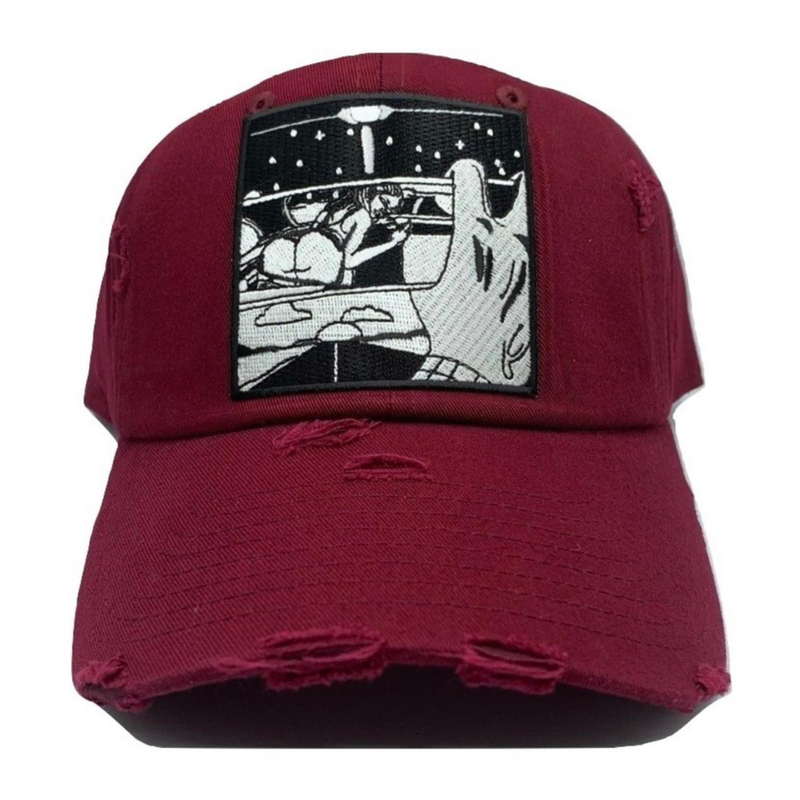 m-v-dad-hats-ride-with-girls-maroon-hat-memphis-urban-wear