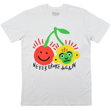 NEVER BROKE AGAIN CHERRY STEM  T-SHIRTS