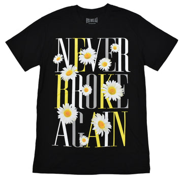 NEVER BROKE AGAIN SUNFLOWER T-SHIRTS