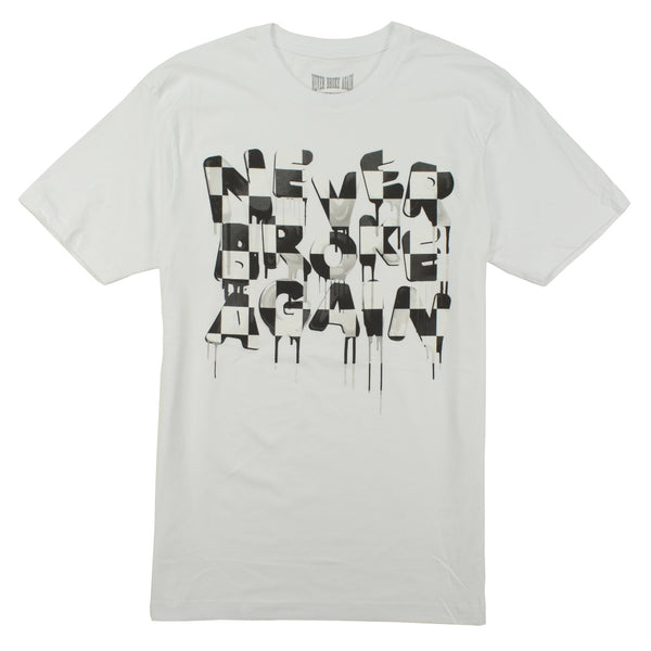 never-broke-again-drip-checkers-white-t-shirts-nba-young-boy-tee-memphis-urban-wear