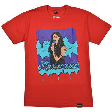 P G APPAREL MASTERPIECE RED T-SHIRTS