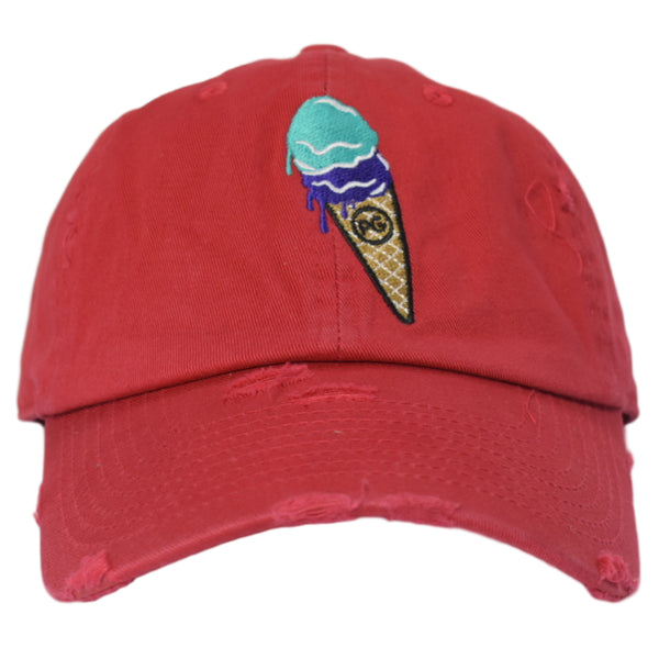 p-g-apparel-ice-cream-red-dad-hat-memphis-urban-wear