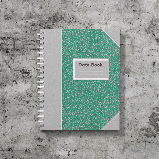 Signature Date Book: Mint