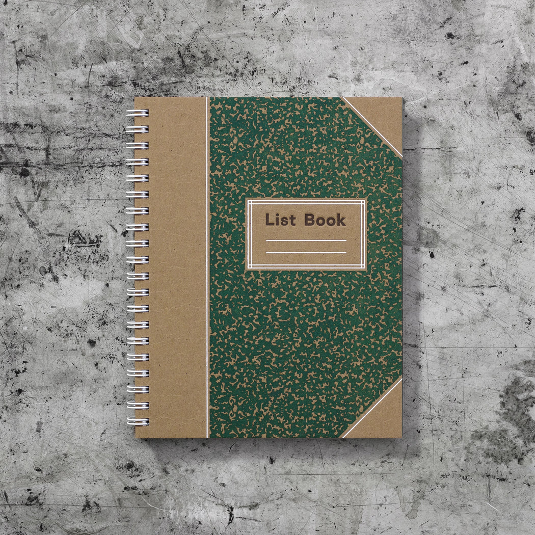 Signature List Book: Pine