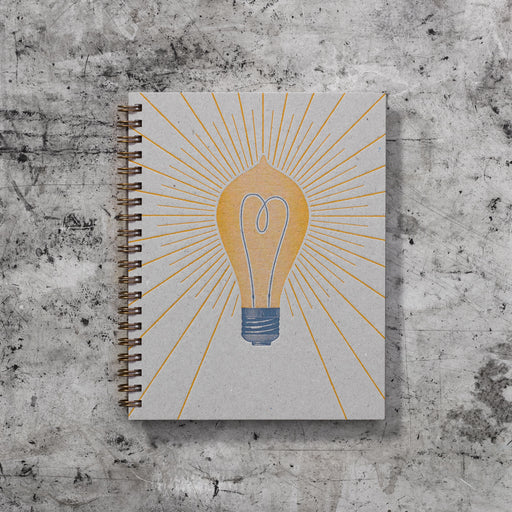 Signature Note Book: Light Bulb