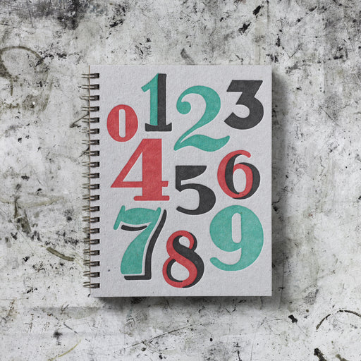 Signature Note Book: Vintage Numbers