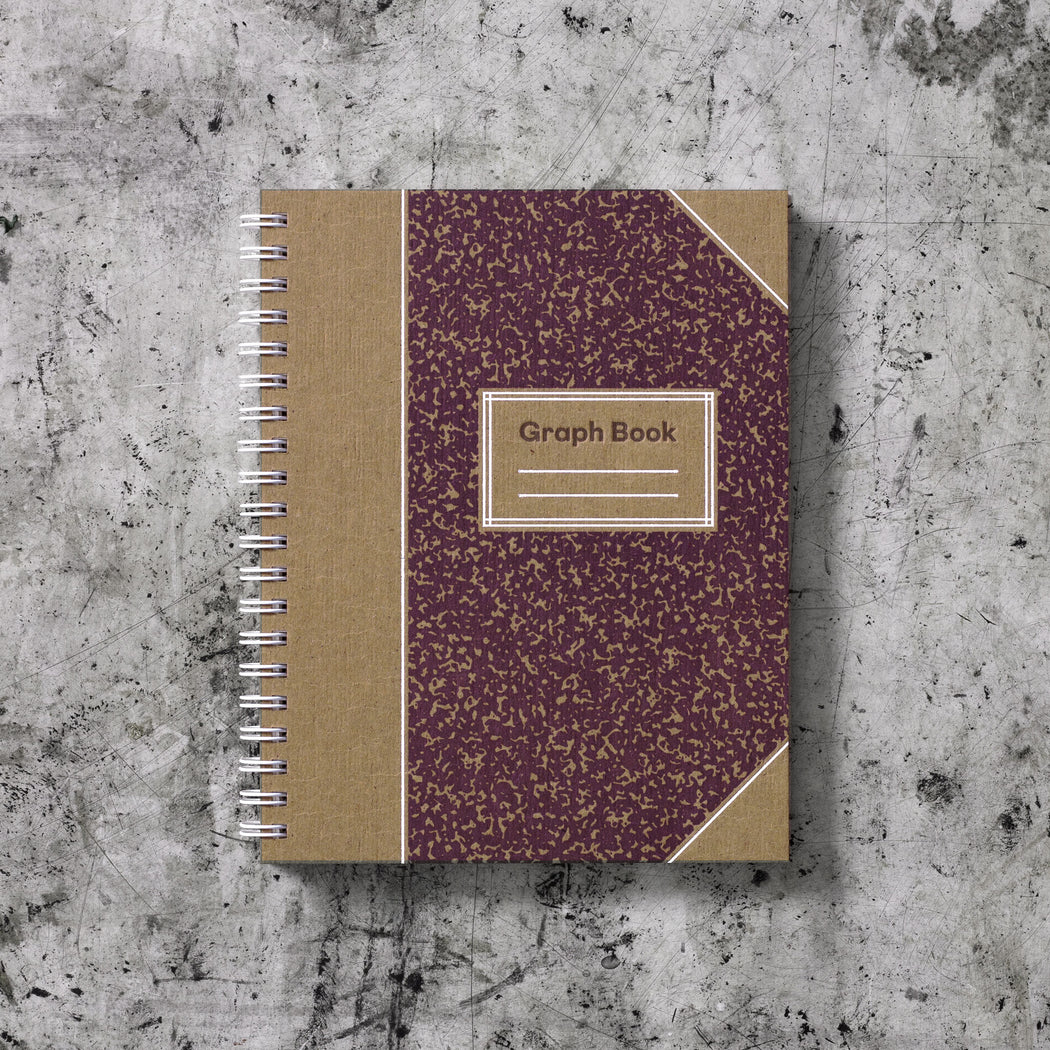 Signature Graph Book: Plum