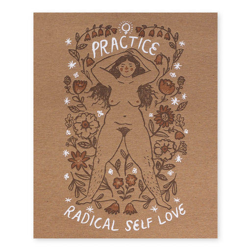 Print: Self Love Kraft