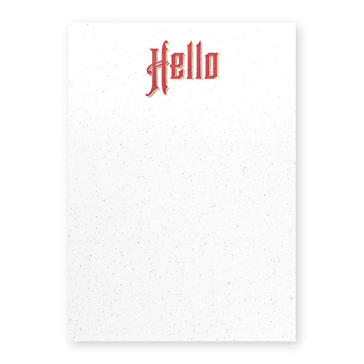 Stationery Set: Hello