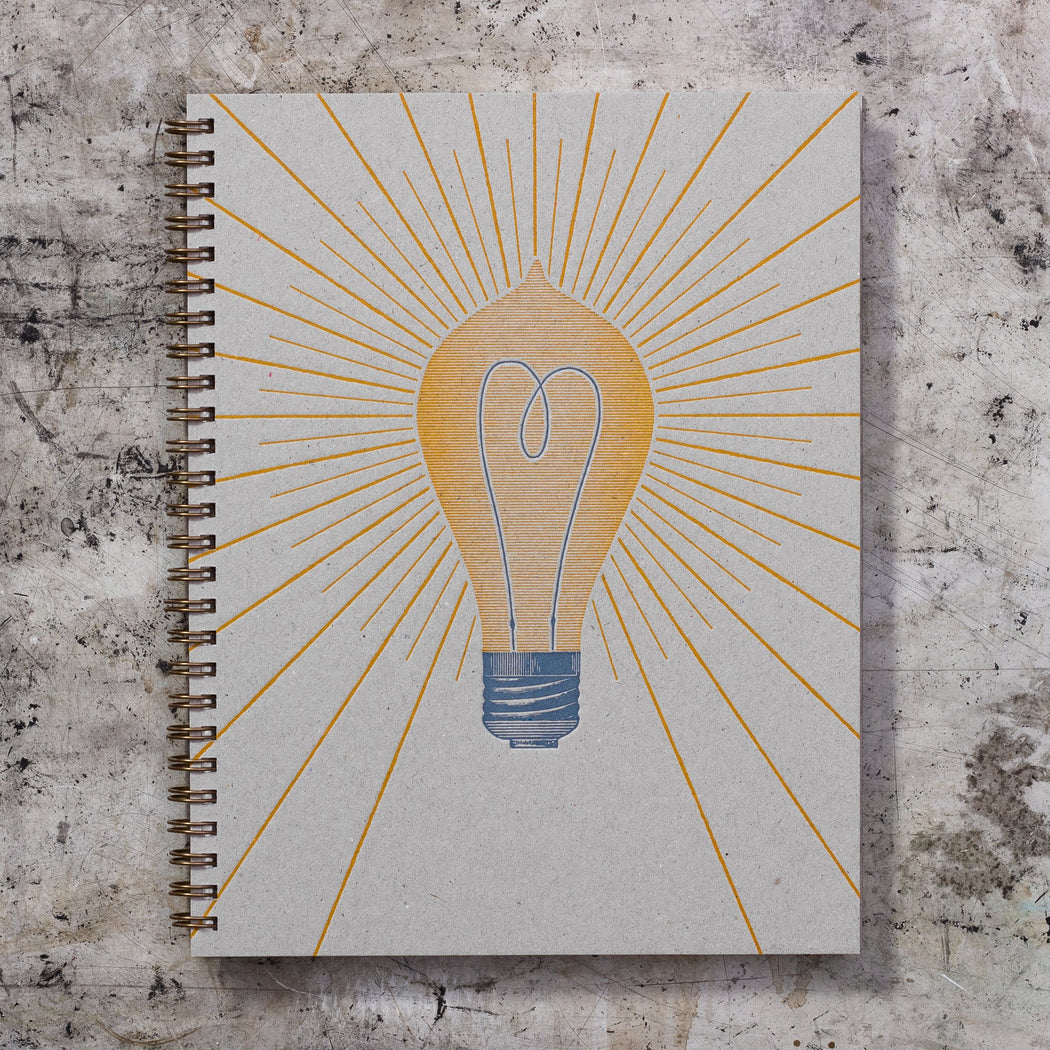 Imperial Note Book: Light Bulb