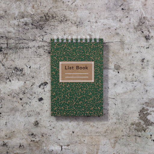 Mini List Book: Pine
