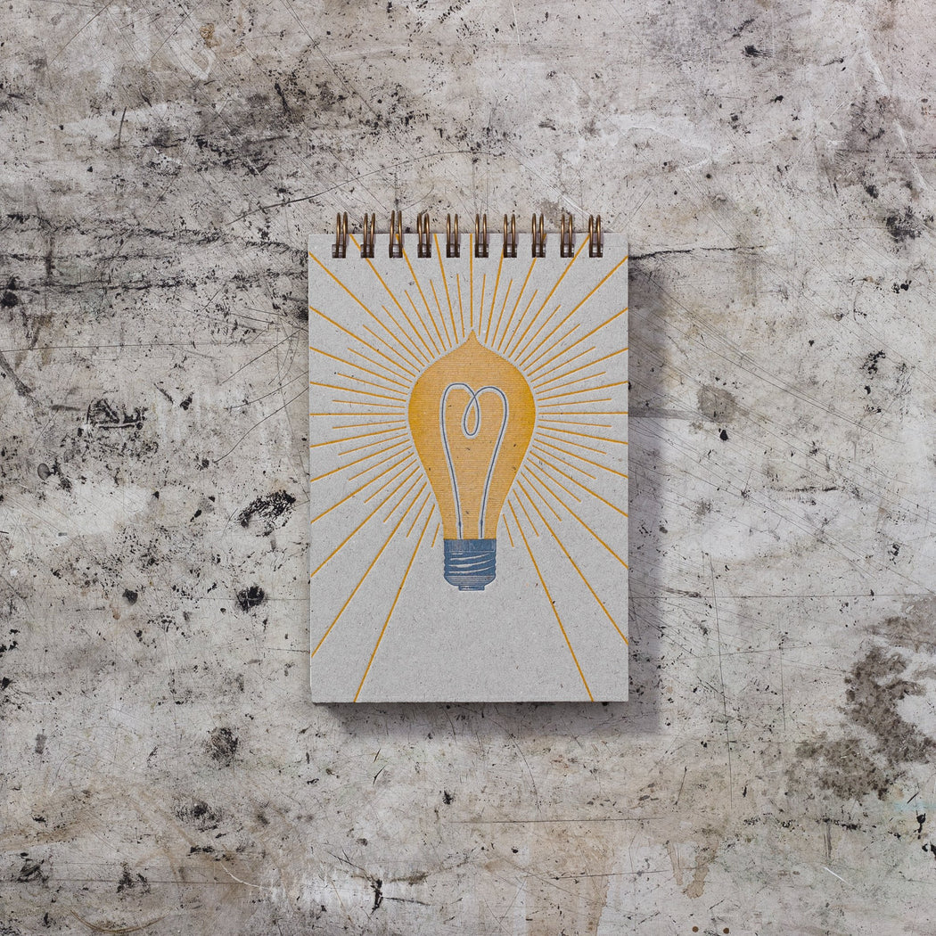 Mini Note Book: Light Bulb