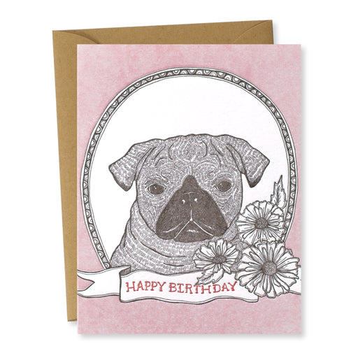 Birthday Dogs: Pug
