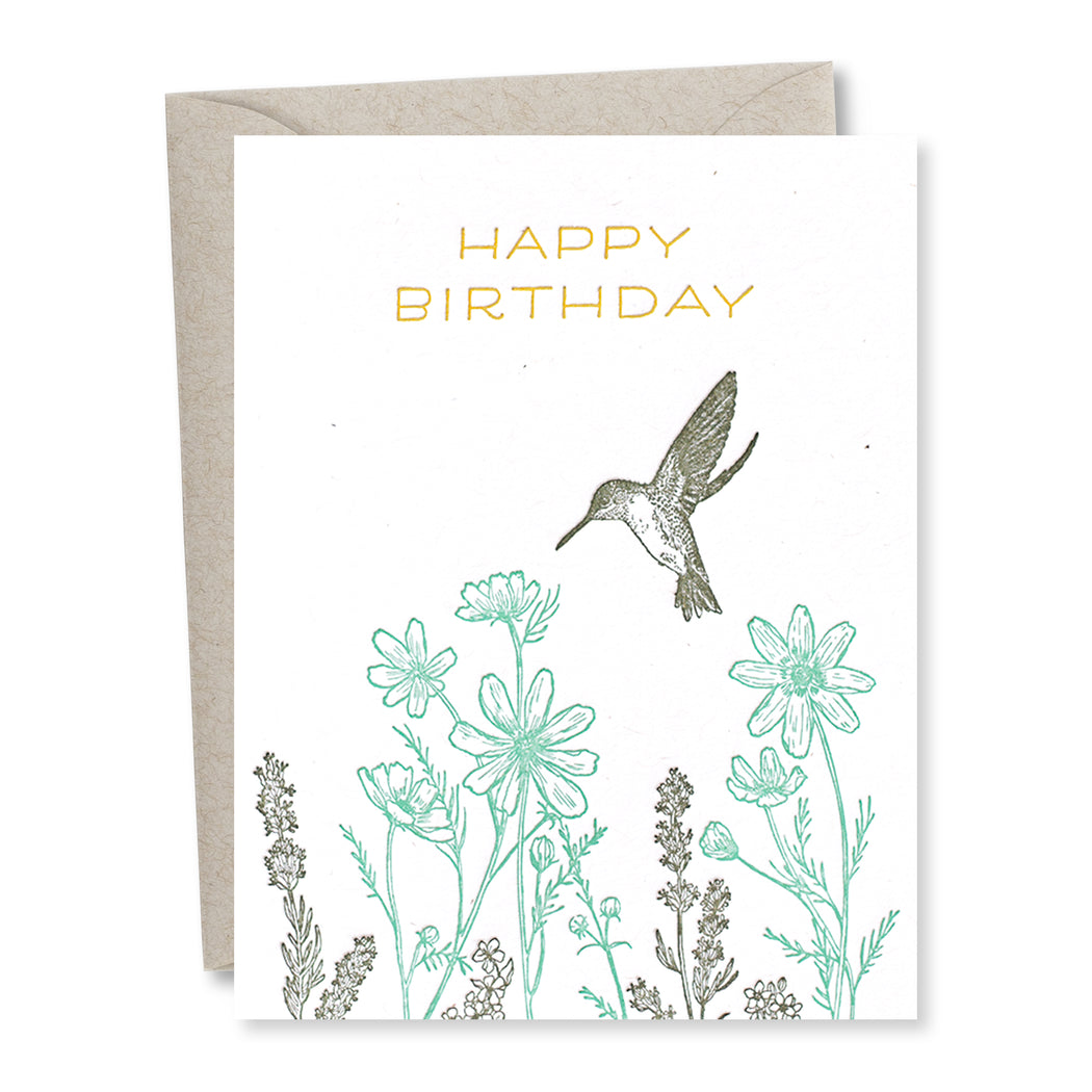 Frida Clements: Birthday Hummingbird