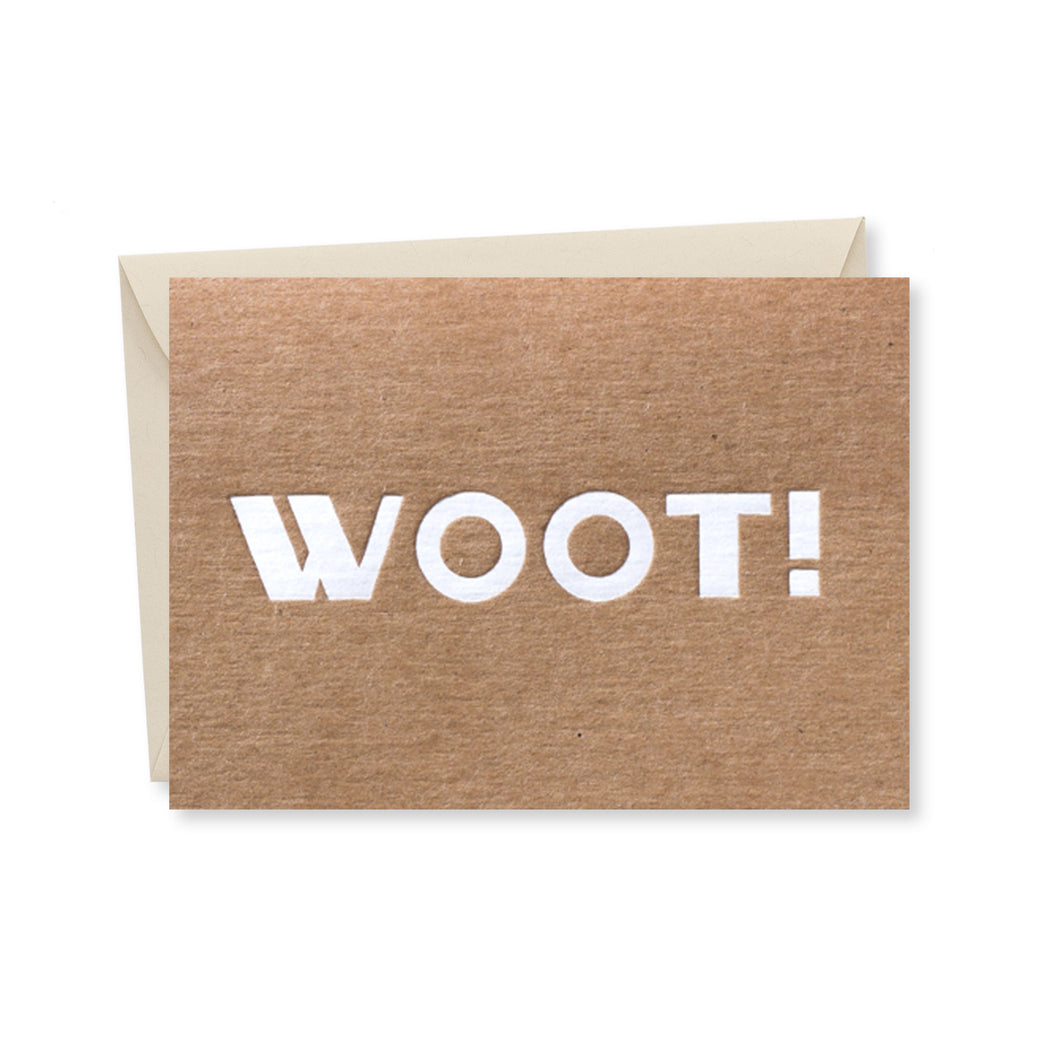 Interjections: Woot