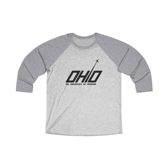 Ohio Aviation Baseball Tee