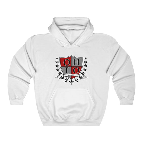Ohio Crest Hooded Sweatshirt