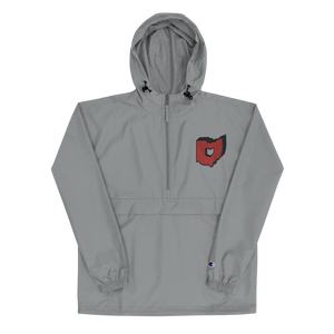 O-State Embroidered Packable Jacket