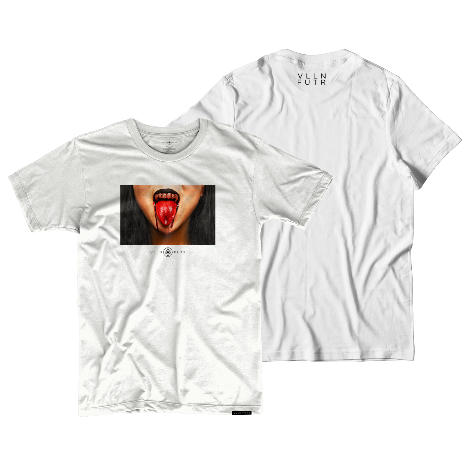 Blood Grill Tee White