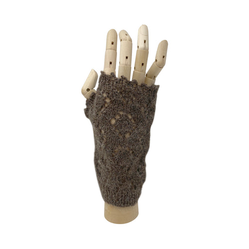 Longwool Lacy Mitts