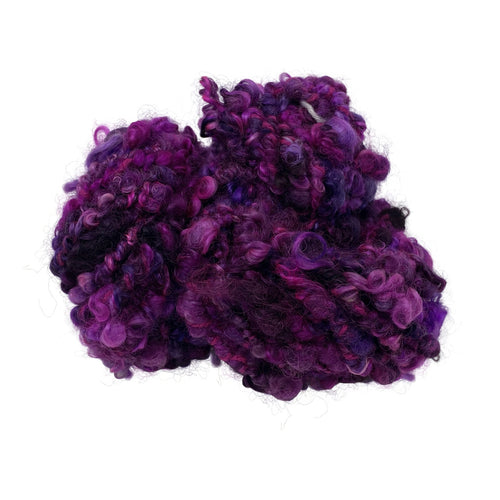 Wensleydale Chunky (bulky) weight 100g (3.52 oz) skein Rouen shades in purple