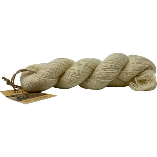 Natural 4ply (Fingering/Sports Weight) 100g (3.53 oz):  Rare Breed Wensleydale and Bluefaced Leicester